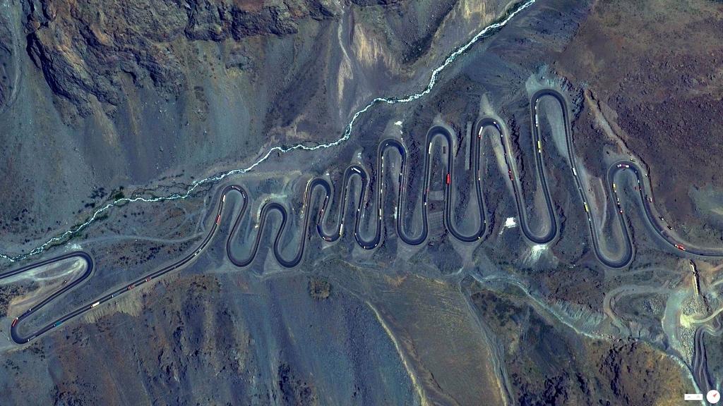 Los Caracoles Pass - Los Andes, Chile