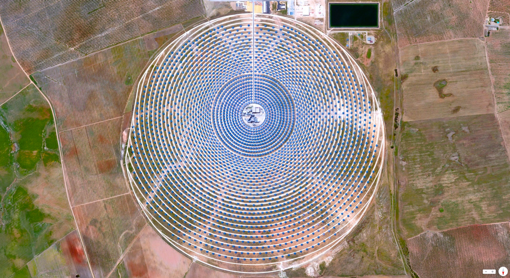 Gemasolar Thermosolar Plant - Seville, Spain