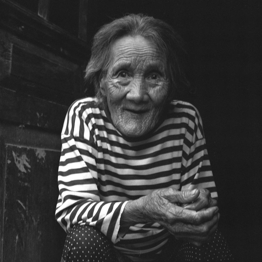 Cao Mei Xing portrait, 87, [2008] (1921-2013)