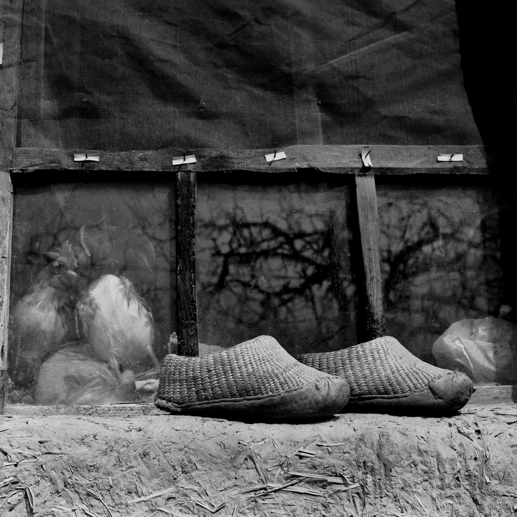 Su Xi Rong's straw shoes, 75, [2008] (1933—)