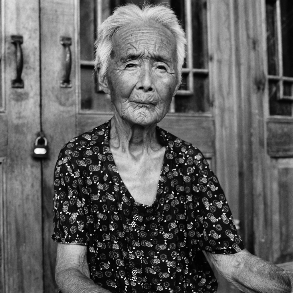 Zhao Hua Hong portrait, 84, [2010] (1926-2013)