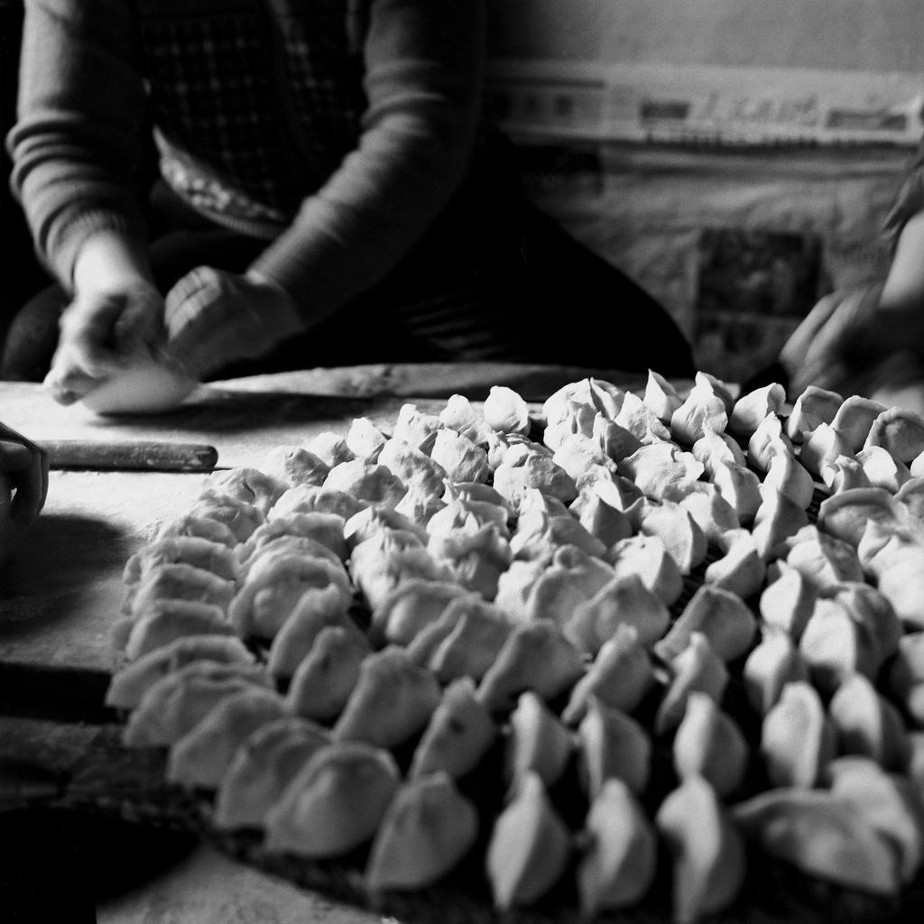 Su Xi Rong dumplings, 75, [2008] (1933—)