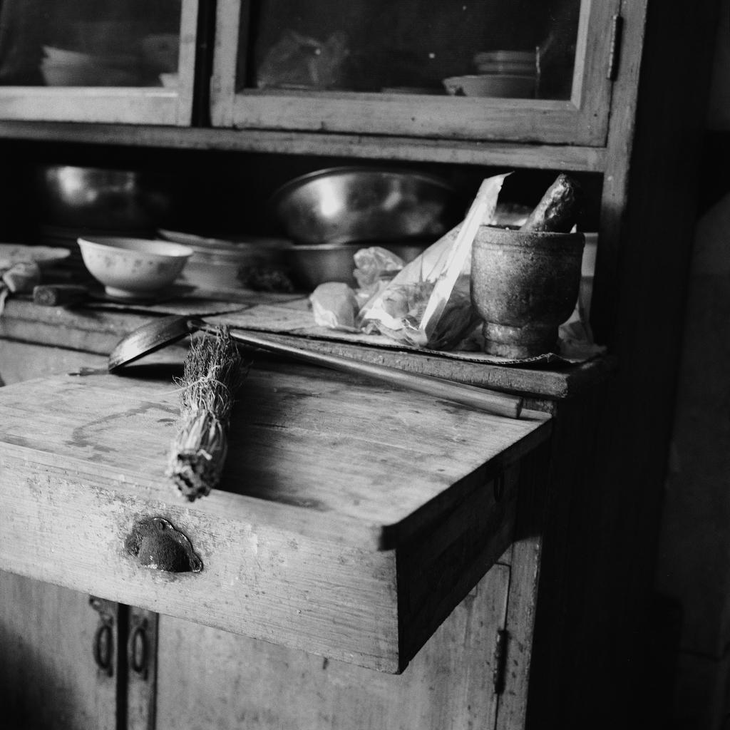 Su Xi Rong kitchen detail, 75, [2008] (1933—)