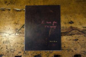 Matt Eich - I Love You, I'm Leaving cover mock-up
